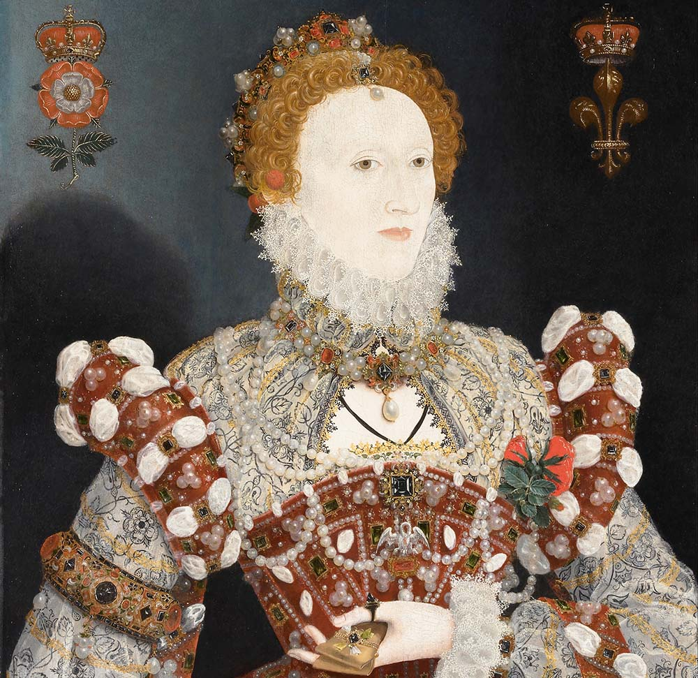 Queen Elizabeth I was known to have bad teeth and a temper.