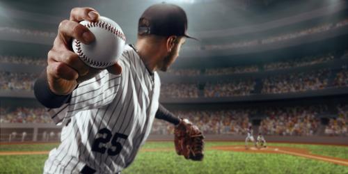 closeup-of-man-throwing-a-baseball